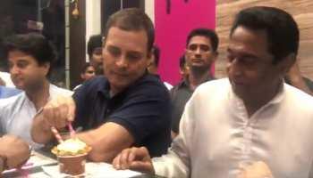 Video: इंदौर की '56' दुकान पहुंचे राहुल ने किया ऐसा काम, बजने लगी तालियां
