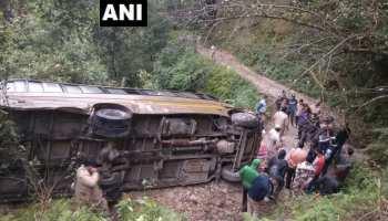 अल्मोड़ा में ITBP की बस खाई में गिरी, 1 जवान की मौत 2 घायल, रेस्क्यू ऑपरेशन जारी