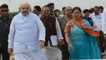 राजस्थान चुनाव: जावड़ेकर के बाद अब अमित शाह के साथ शुरू हुआ 69 सीटों पर मंथन