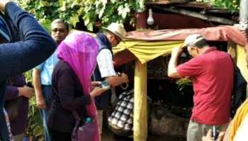 सीएम नीतीश के आमंत्रण पर भूटान की टीम ने किया लाली पहाड़ी का दौरा