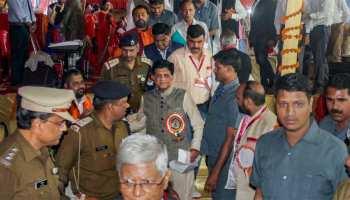 लखनऊ में रेल मंत्री पीयूष गोयल का हुआ विरोध, नारे लगाकर किया विरोध