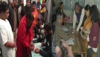 उत्तराखंड निकाय चुनाव : CM त्रिवेंद्र रावत और बाबा रामदेव ने किया मतदान