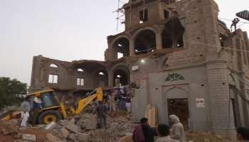 बीकानेर: गुरुद्वारे की निर्माणाधीन इमारत गिरने से 6 लोग दबे, बचाव कार्य जारी