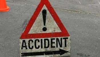 छत्तीसगढ़ के गरियाबंद में अनियंत्रित बस पलटी, 16 यात्री घायल