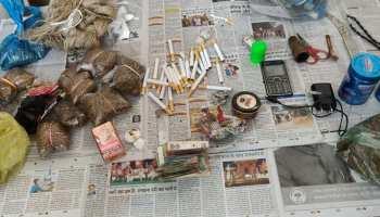 बिहारः सूबे के कई जेलों में प्रशासन ने की छापेमारी, कई जगह से अवैध सामान बरामद