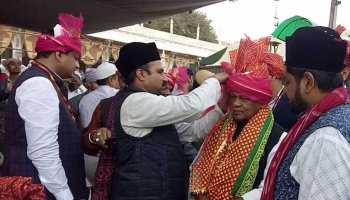 जीतन राम मांझी पहुंचे अजमेर, ख्वाजा मोईनुद्दीन चिश्ती की दरबार में चढ़ाई चादर