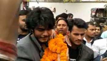 पटना: शहाबुद्दीन का बेटा ओसामा पहुंचा पटना यूनिवर्सिटी, लगे जिंदाबाद के नारे