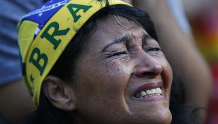 फुटबॉल विश्व कप: ब्राजील की एक और हार से हताश हुए फैंस