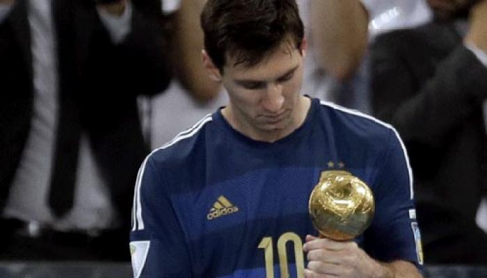 हार के बावजूद टूर्नामेंट के सर्वश्रेष्ठ खिलाड़ी बने मेस्सी
