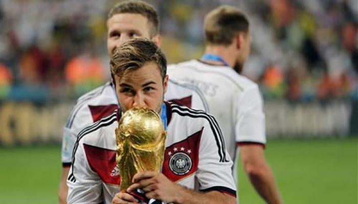 गोएट्जे के गोल से जर्मनी ने रच दिया इतिहास