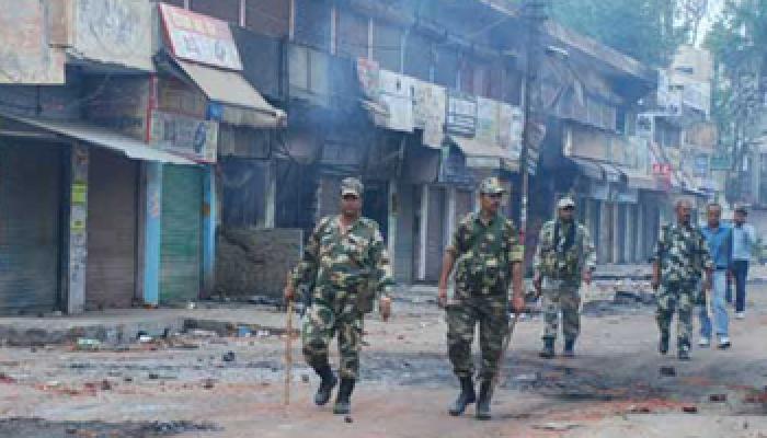 वर्ष 2013 में उत्तर प्रदेश में सबसे ज्यादा सांप्रदायिक दंगे