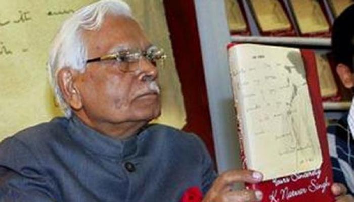 ....किताब ने सोनिया गांधी के 'कमजोर नस' को छू दिया: नटवर सिंह