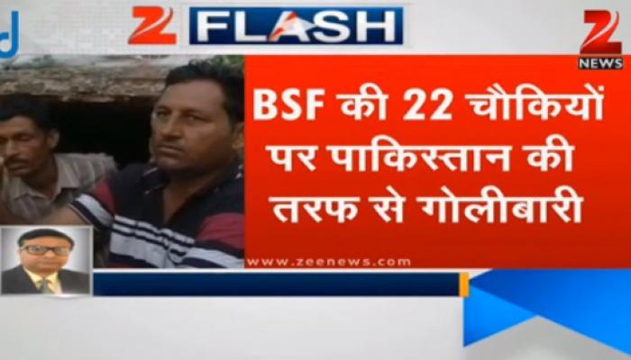 22 सीमा चौकियों, 13 गांवों में पाकिस्तान की ओर से भीषण गोलाबारी, दो ने गंवाई जान