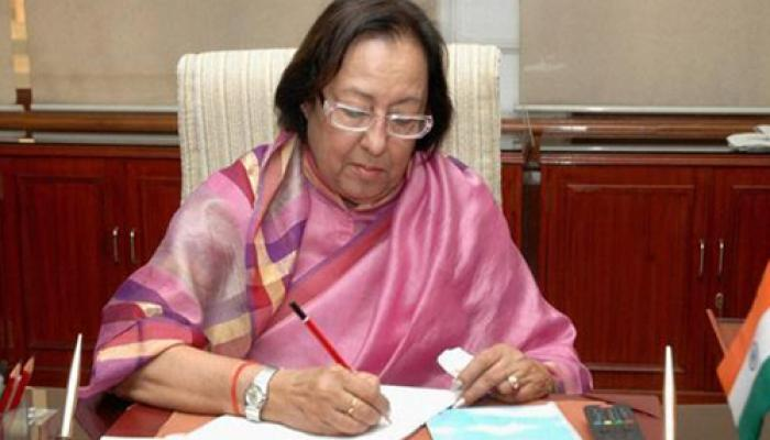RSS के बयान 'सभी लोग हिंदू' से सहमति के बाद पलटीं नजमा हेपतुल्ला