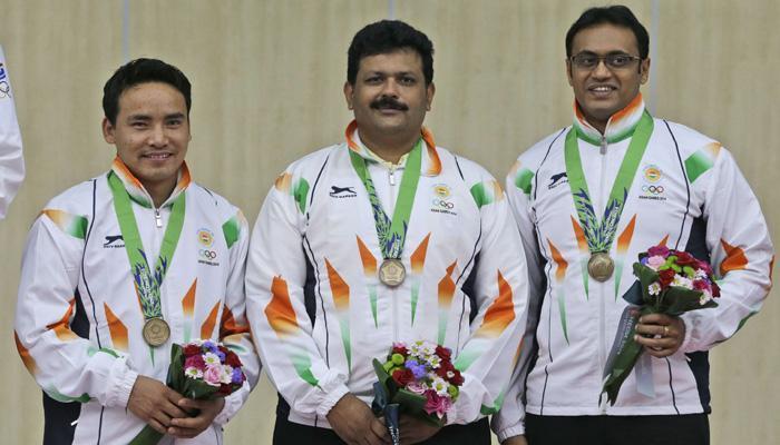 एशियन गेम्स: निशानेबाजी में भारतीय पुरुष टीम को 10 मीटर एयर पिस्टल में मिला कांस्य पदक