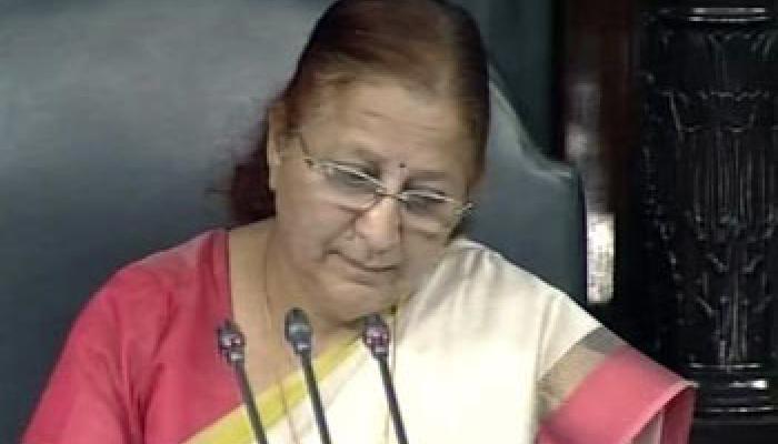 लैंगिक समानता के भारत पूरी तरह प्रतिबद्ध : सुमित्रा महाजन