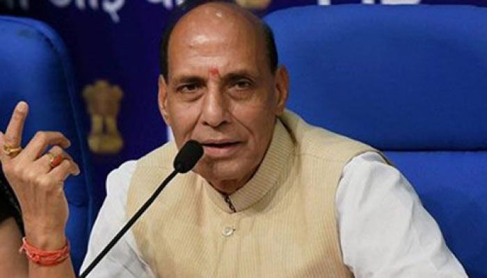 नक्सली हमला : छत्तसीगढ़ में राजनाथ ने की स्थिति की समीक्षा, मुआवजे की घोषणा