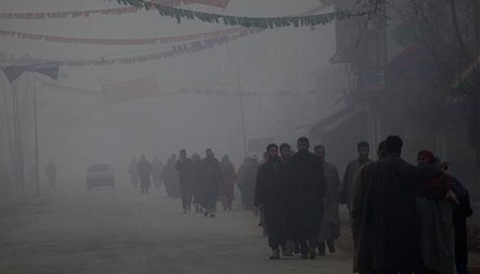 कश्मीर में ठंड का कहर, लेह माइनस 13 डिग्री सेल्सियस के साथ सबसे ठंडा