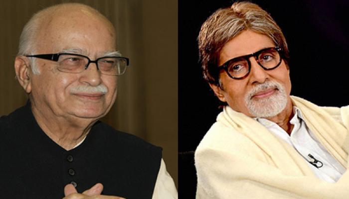 पद्म पुरस्कारों की सूची में आडवाणी, अभिताभ बच्चन और दिलीप कुमार शामिल