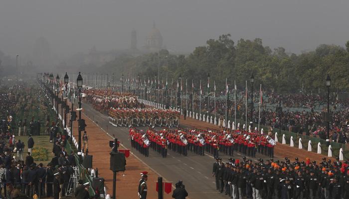 कड़ी सुरक्षा के बीच देश ने मनाया 66वां गणतंत्र दिवस
