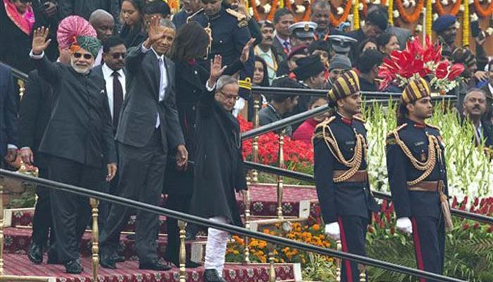 गणतंत्र दिवस परेड में शामिल होने वाले पहले अमेरिकी राष्ट्रपति बने ओबामा