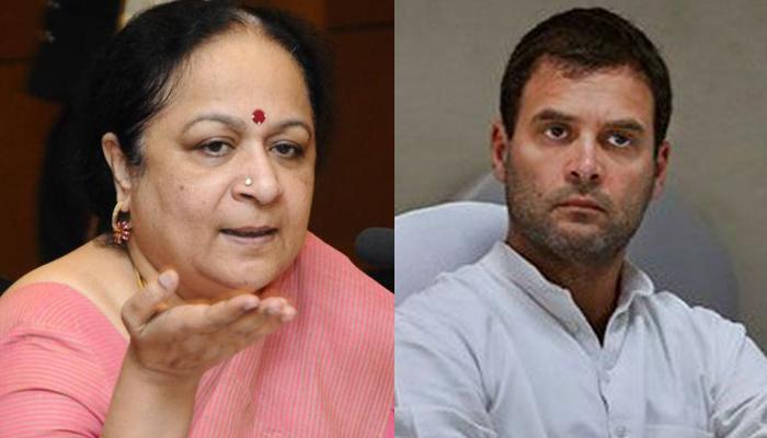 कांग्रेस नेता जयंती नटराजन ने राहुल गांधी पर लगाए संगीन आरोप