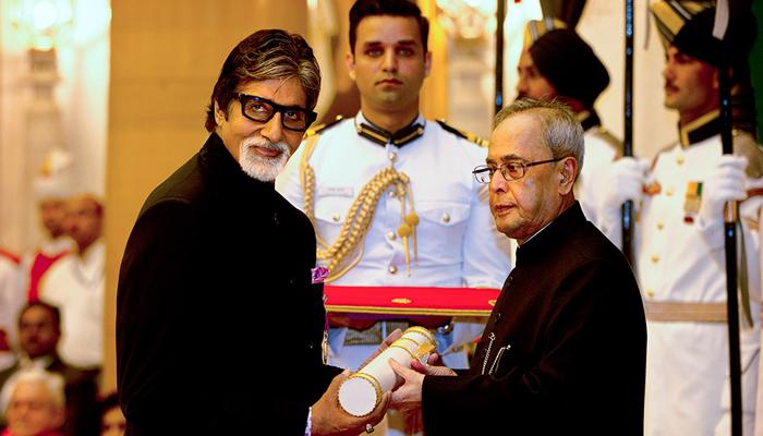 अमिताभ बच्चन और प्रिंस करीम आगा खान को मिला पद्म विभूषण