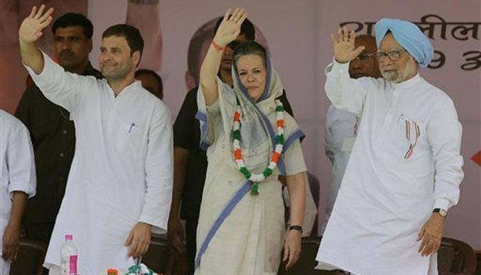 किसान रैली में राहुल-सोनिया ने PM मोदी पर निशाना साधा, कहा-किसानों की आवाज दबा रही सरकार
