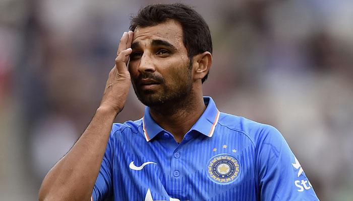 घुटने की चोट की वजह से मोहम्मद शमी IPL-8 से बाहर