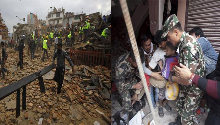 नेपाल में 7.9 तीव्रता के भूकंप ने मचाई भीषण तबाही, करीब 1500 लोगों की मौत