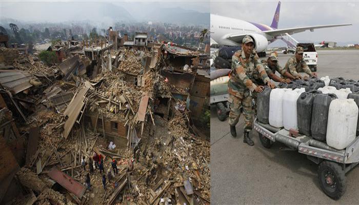 नेपाल भूकंप : बारिश और ताजा झटकों से राहत कार्य में बाधा, मृतक संख्या 2,400 से अधिक