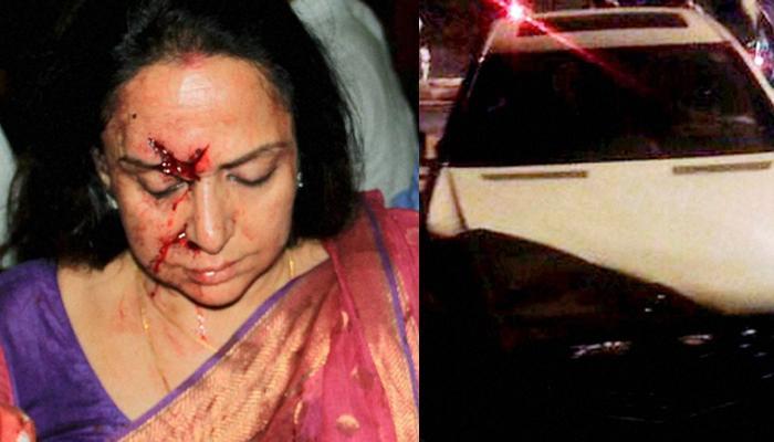 सड़क हादसे में जख्मी हुईं हेमा मालिनी; सिर और पैर में आई चोट, सांसद का कार ड्राइवर गिरफ्तार