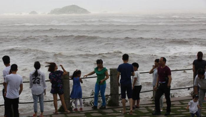 चीन की ओर बढ़ा 'चान-होम' तूफान, 8.5 लाख से ज्यादा लोगों को सुरक्षित स्थान पर पहुंचाया