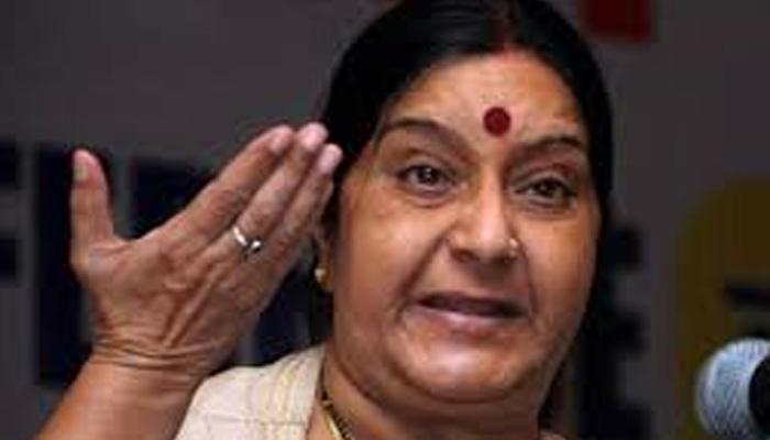 ललित मोदी को यात्रा दस्तावेज के लिए ब्रिटेन से कभी अनुरोध नहीं किया: सुषमा