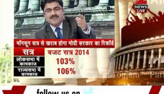 संसद का नहीं चलना मोदी की हार है?