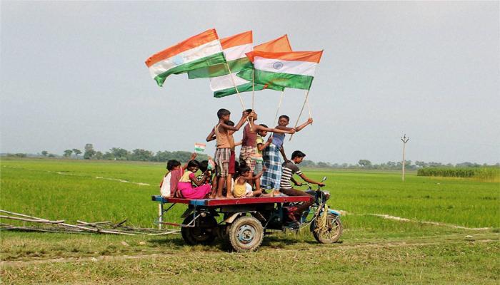 आजाद भारत की राहों में 69 साल