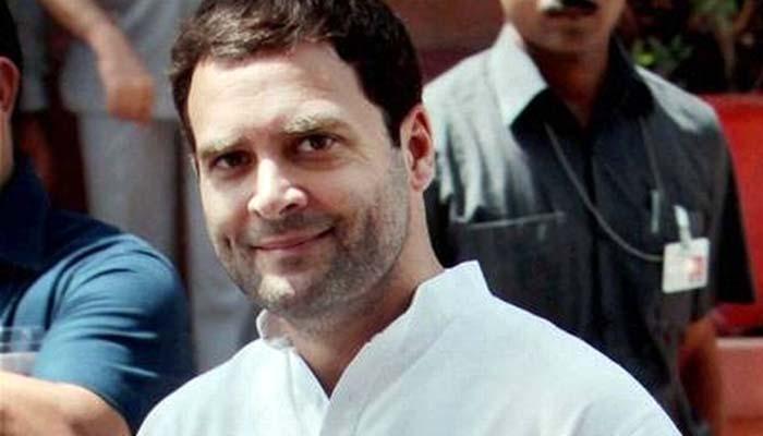 राहुल ने पीएम मोदी पर साधा निशाना, कहा -'कुर्ता-पायजामा की सरकार' देगी कांग्रेस