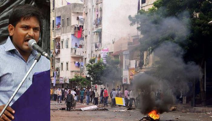 पटेल आरक्षण : हिंसा में 9 लोगों की मौत, इलाकों में सेना तैनात