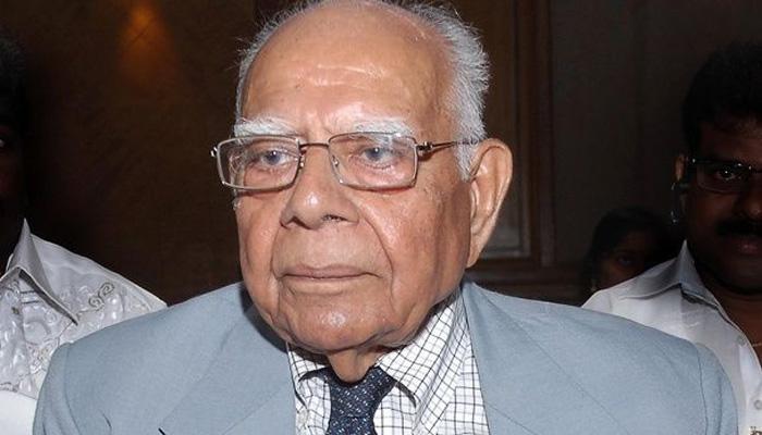 पूर्व सैनिकों को OROP पर समर्थन देने जंतर-मंतर पहुंचे जेठमलानी ने कहा, PM मोदी ने मेरा सपना तोड़ दिया