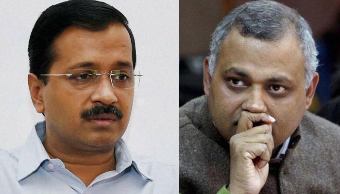 केजरीवाल ने कहा- सोमनाथ भारती सरेंडर करें, अब पार्टी के लिए बन रहे शर्मिंदगी का सबब