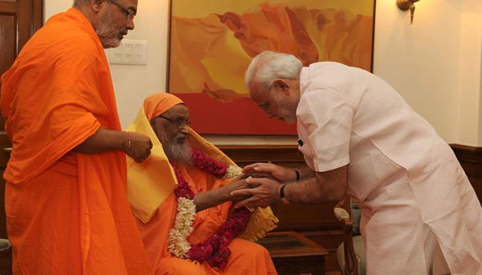 PM मोदी के गुरु स्वामी दयानंद गिरी का निधन