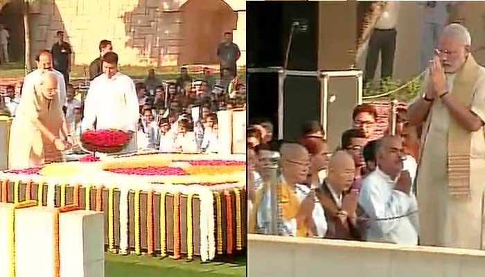 महात्मा गांधी की जयंती आज; राष्ट्रपति, PM मोदी ने दी श्रद्धांजलि