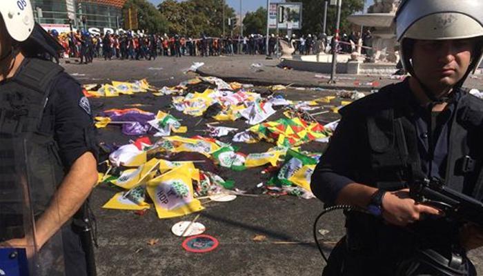 तुर्की की राजधानी अंकारा में शांति मार्च पर बम से हमला, 30 लोगों की मौत
