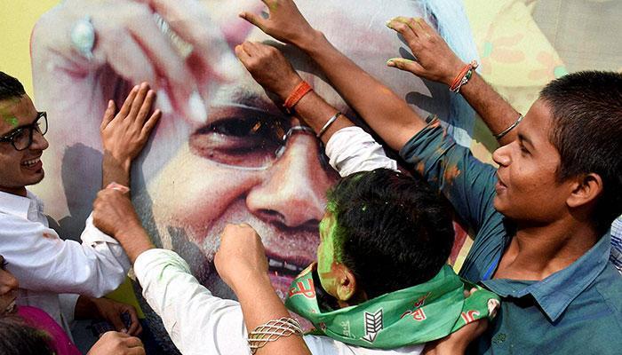 Mahagathbandhan sweeps Bihar