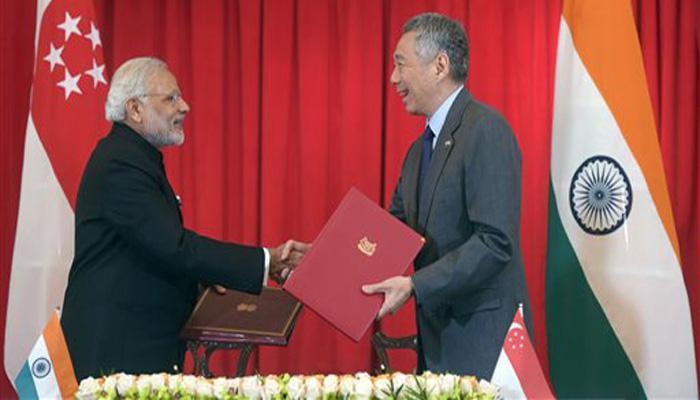 सिंगापुर के प्रधानमंत्री, राष्ट्रपति से मिले पीएम मोदी, रक्षा संबंधों से जुड़े समझौतों पर हुए हस्ताक्षर