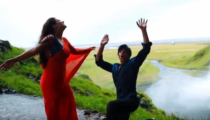 VIDEO में देखिए: कैसे काजोल ने बचाई शाहरूख की जान!