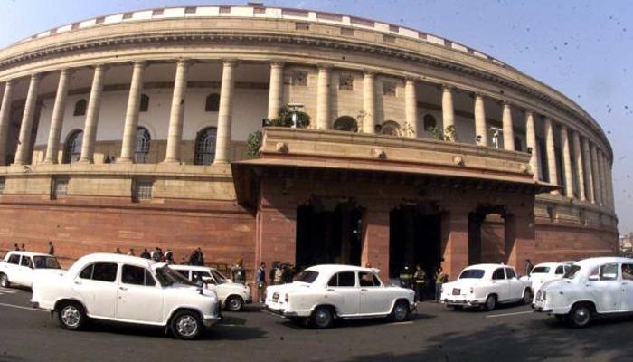 दलित और राममंदिर मुद्दे पर राज्यसभा में हंगामा, कार्यवाही बाधित