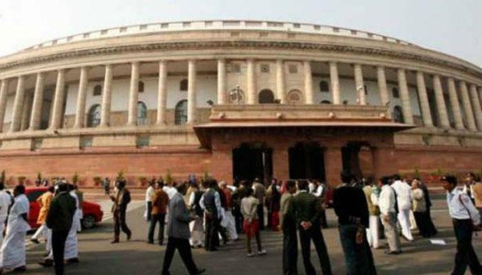 बीजेपी सांसद की टिप्पणी को लेकर कांग्रेस, टीएमसी का लोकसभा से वाकआऊट