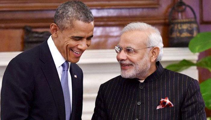 पीएम मोदी और यूएस राष्ट्रपति ओबामा ने हॉटलाइन पर की एक घंटे तक बात
