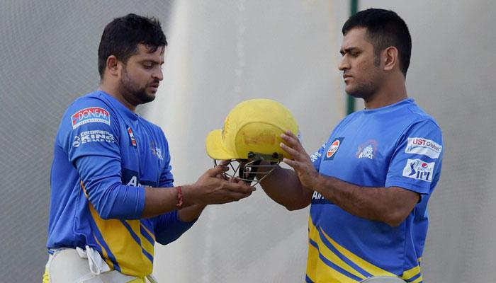 IPL में पहली बार एक-दूसरे के खिलाफ खेलेंगे धोनी और सुरेश रैना